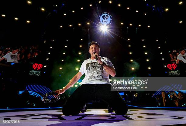 Ryan Tedder of One Republic performs onstage at the 2016 iHeartRadio Music Festival at TMobile Arena on September 23 2016 in Las Vegas Nevada