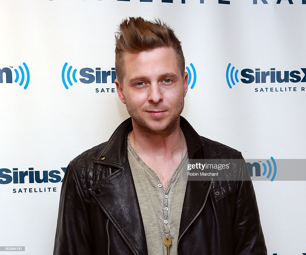 <a gi-track='captionPersonalityLinkClicked' href=/galleries/search?phrase=Ryan+Tedder&family=editorial&specificpeople=4651553 ng-click='$event.stopPropagation()'>Ryan Tedder</a> of OneRepublic visits at SiriusXM Studios on February 28, 2013 in New York City.