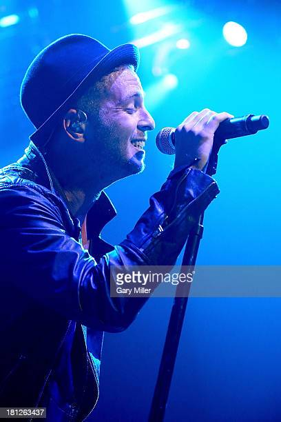 Ryan Tedder performs in concert with OneRepublic at ACL Live on September 19 2013 in Austin Texas
