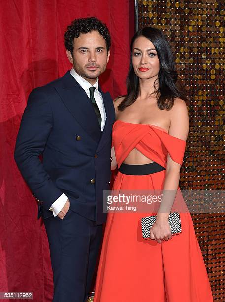 Ryan Thomas arrives for the British Soap Awards 2016 at the Hackney Town Hall Assembly Rooms on May 28 2016 in London England