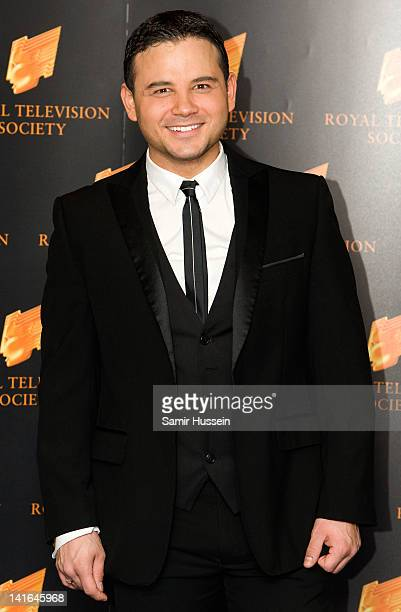 Ryan Thomas arrives for the RTS Programme Awards 2012 at the Grosvenor House Hotel on March 20 2012 in London England