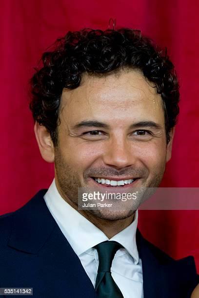 Ryan Thomas attends the British Soap Awards 2016 at Hackney Empire on May 28 2016 in London England