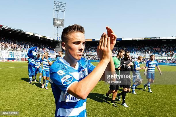 Ryan Thomas of PEC Zwolle during the Dutch Eredivisie match between PEC Zwolle and FC Twente at the IJsseldelta stadium on August 23 2015 in Zwolle...
