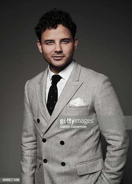 Ryan Thomas poses in the Portrait Studio during the 21st National Television Awards at The O2 Arena on January 20 2016 in London England
