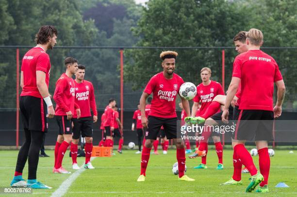 Ryan Trotman of FC Twenteduring a training session at Trainingscentrum Hengelo on June 24 2017 in Hengelo The Netherlands
