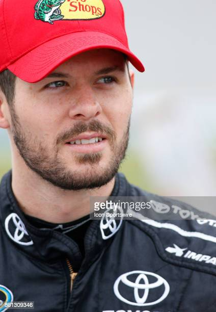 Ryan Truex Toyota Tundra during qualifying for the Fred's 250 NASCAR Camping World truck race on October 14 at the Talladega Superspeedway in...
