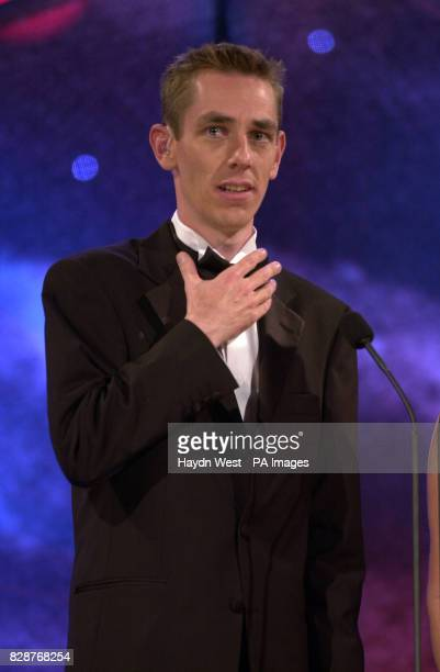 Ryan Tulbride hosting the final of the Rose of Tralee International Festival 2003 a personality contest for young women of Irish heritage in Tralee...