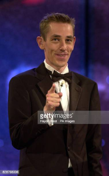 Ryan Tulbride hosts the final of the 2003 Rose of Tralee International Festival a personality contest for young women of Irish heritage in Tralee Co...