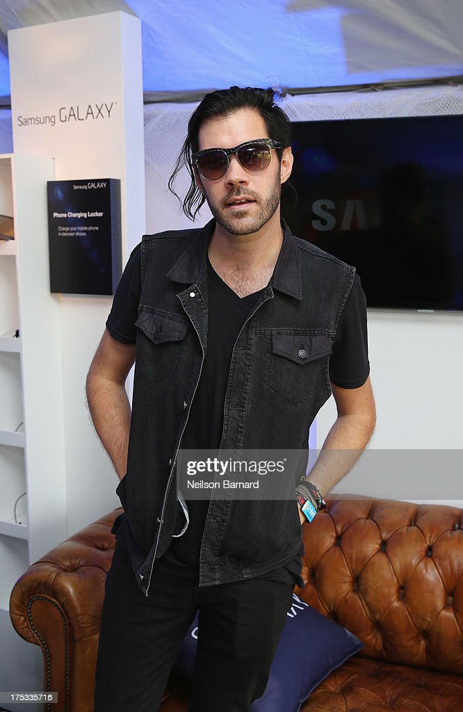 Ryan Walker of the band Imagine Dragons attends the Samsung Galaxy Artist Lounge at Lollapalooza on August 2, 2013 in Chicago City.