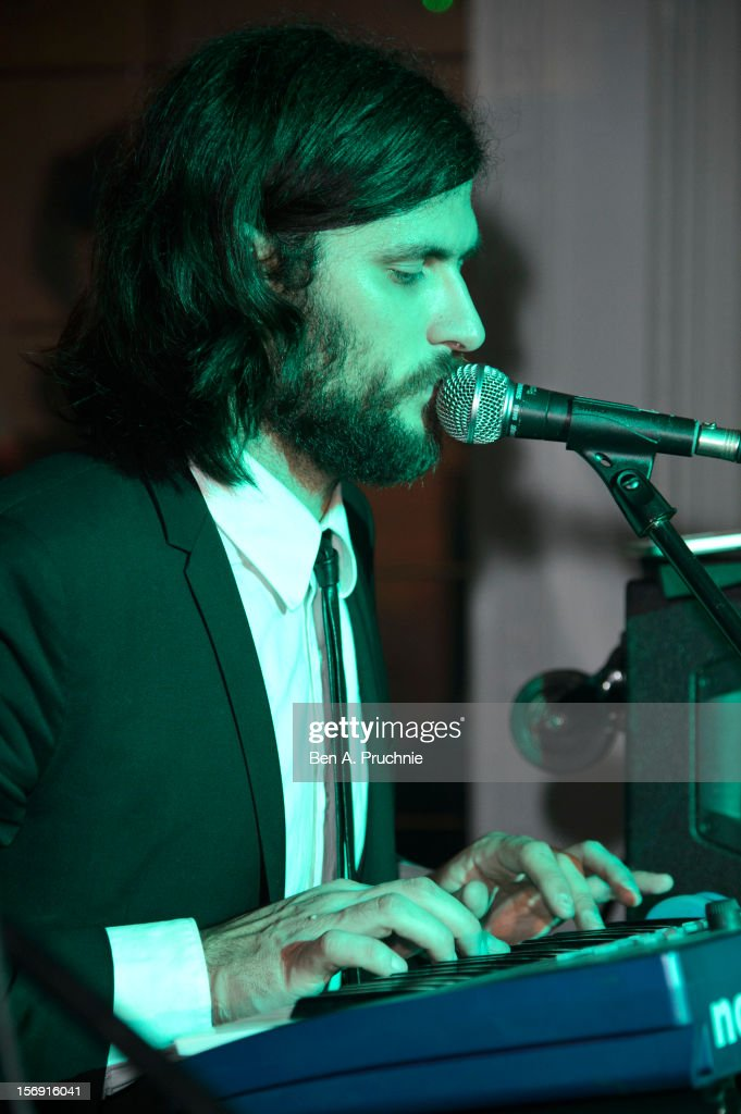 Ryan Williams of Pillow Talk performs during the Cuckoo Club and Show Pony pop up club at Grosvenor Place on November 24, 2012 in London, England.