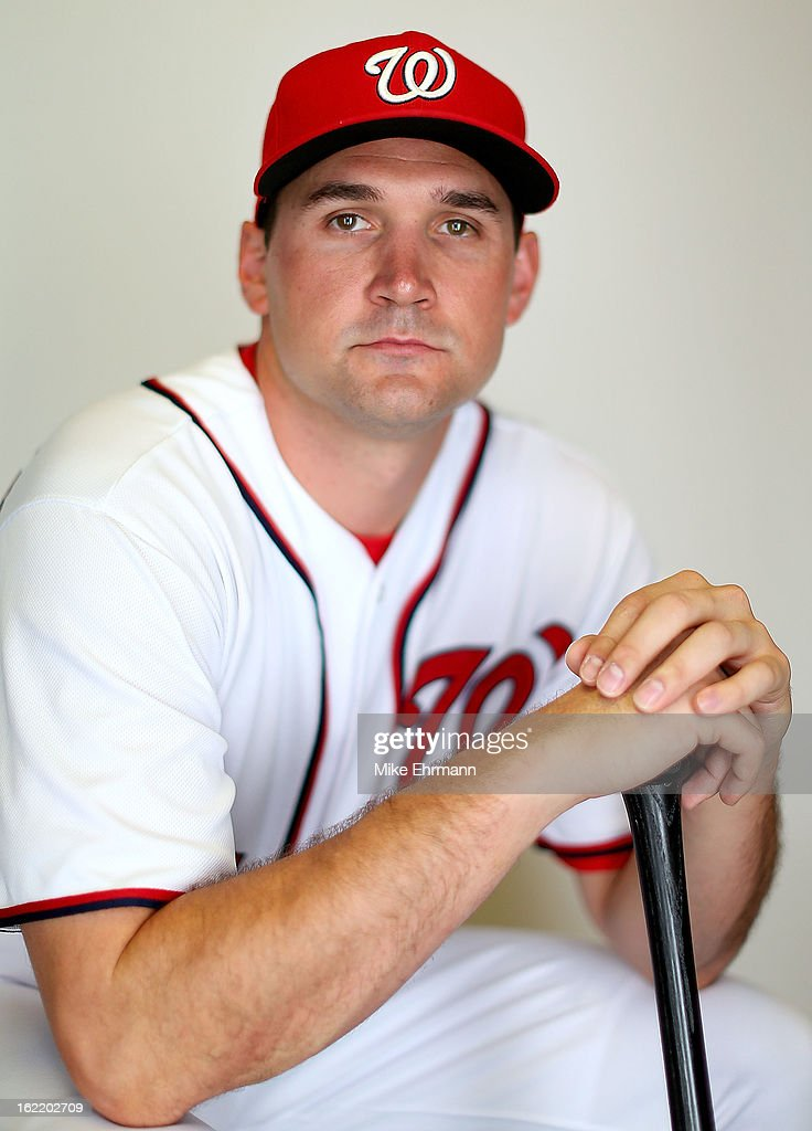 <a gi-track='captionPersonalityLinkClicked' href=/galleries/search?phrase=Ryan+Zimmerman+-+Baseball+Player&family=editorial&specificpeople=534809 ng-click='$event.stopPropagation()'>Ryan Zimmerman</a> #11 of the Washington Nationals poses for a portrait during photo day at Space Coast Stadium on February 20, 2013 in Viera, Florida.