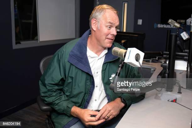 Ryan Zinke visits SiriusXM Studios on September 12 2017 in New York City