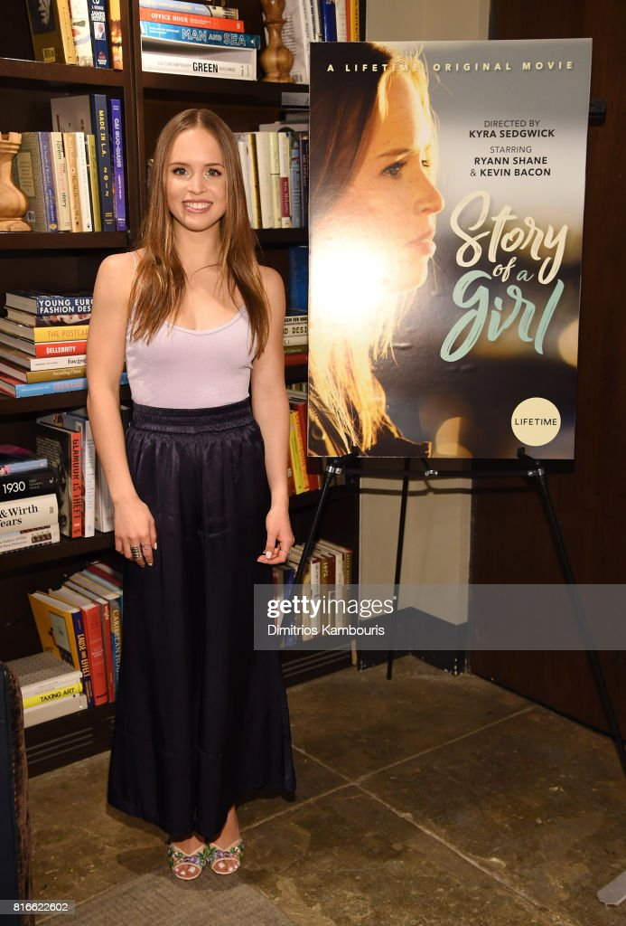 Ryann Shane attends the 'Story Of A Girl' screening at Neuehouse on July 17, 2017 in New York City.