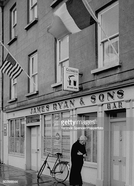 Ryan's bar in New Ross after John F Kennedy's assassination