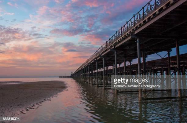 Ryde Pier Sunset