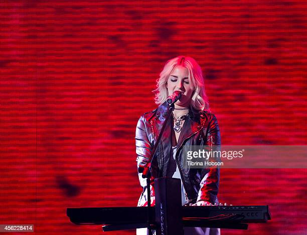 HOLLYWOOD CA MAY 13 Rydel Lynch of R5 performs at the 2014 MDA show of strength telethon at the Hollywood Palladium on May 13 2014 in Hollywood...