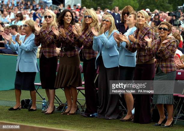 Ryder Cup players' wives and girlfriends Glendryth Woosnam Jocelyn Hefner Diane Antonopoulos Morgan Norman Caroline Harrington Ebba Karlsoon Alison...