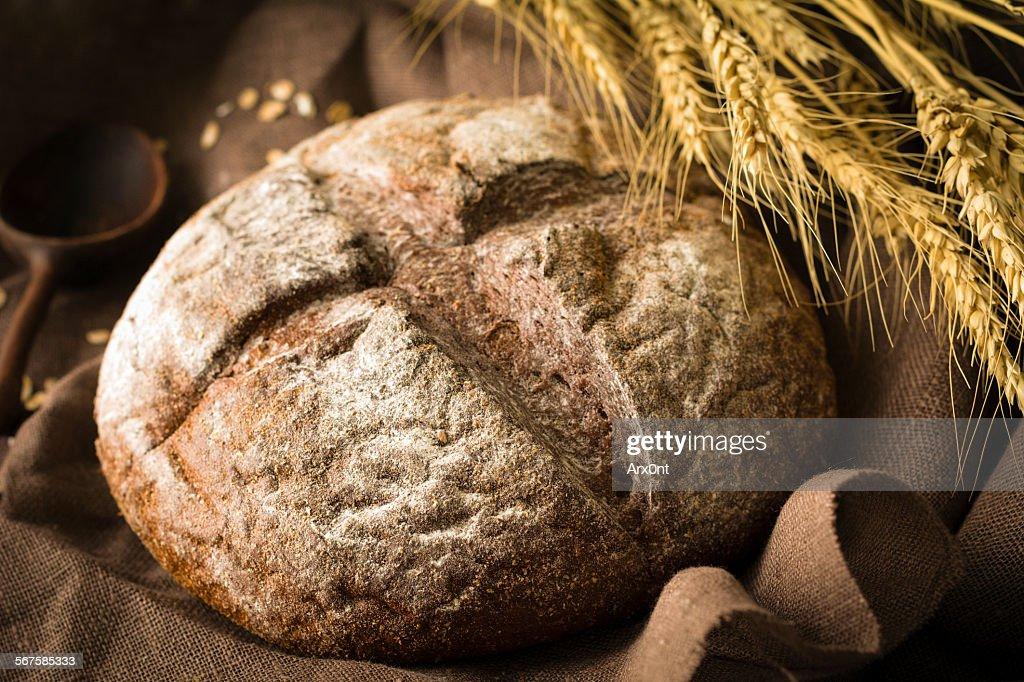 Rye bread : Stock Photo
