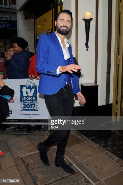 Rylan Clark at the TV Choice awards at the Dorchester hotel on September 4 2017 in London England