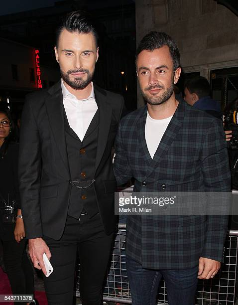 Rylan Clark attending the Absolutely Fabulous The Movie world film premiere after party at Liberty of London on June 29 2016 in London England