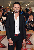 Rylan Clark attends the press launch of 'The X Factor' at the Picturehouse Central on August 26 2015 in London England