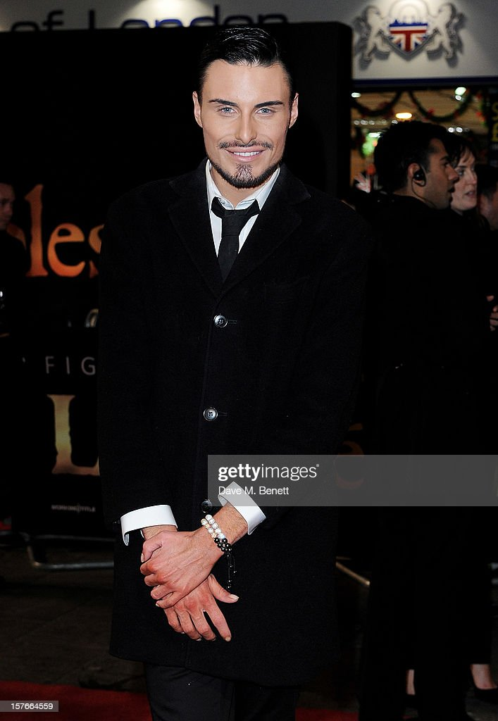 Rylan Clark attends the World Premiere of 'Les Miserables' at Odeon Leicester Square on December 5, 2012 in London, England.