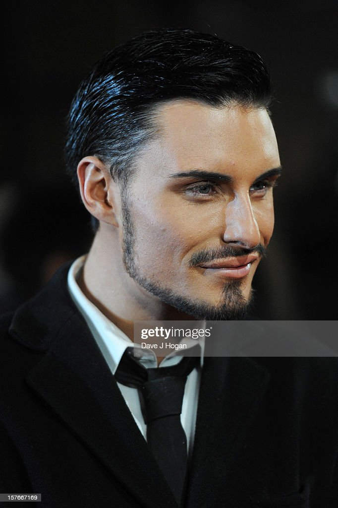 Rylan Clark attends the world premiere of Les Miserables at The Odeon Leicester Square on December 5, 2012 in London, England.
