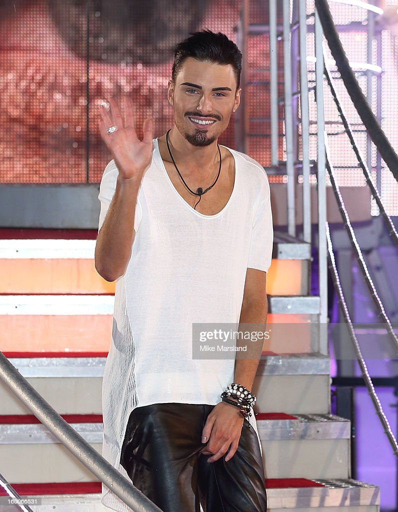 Rylan Clark is crowned winner of Celebrity Big Brother at Elstree Studios on January 25, 2013 in Borehamwood, England.