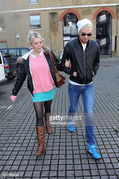 Rylan Clark is seen on November 05 2012 in London United Kingdom
