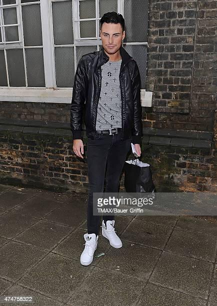 Rylan Clark is seen on October 24 2012 in London United Kingdom