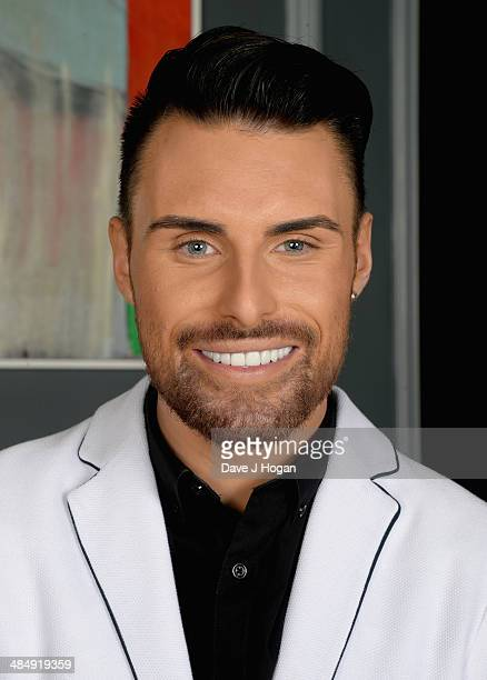 Rylan Clark poses as he attends the This Morning 25th Anniversary at Home House on November 18 2013 in London England