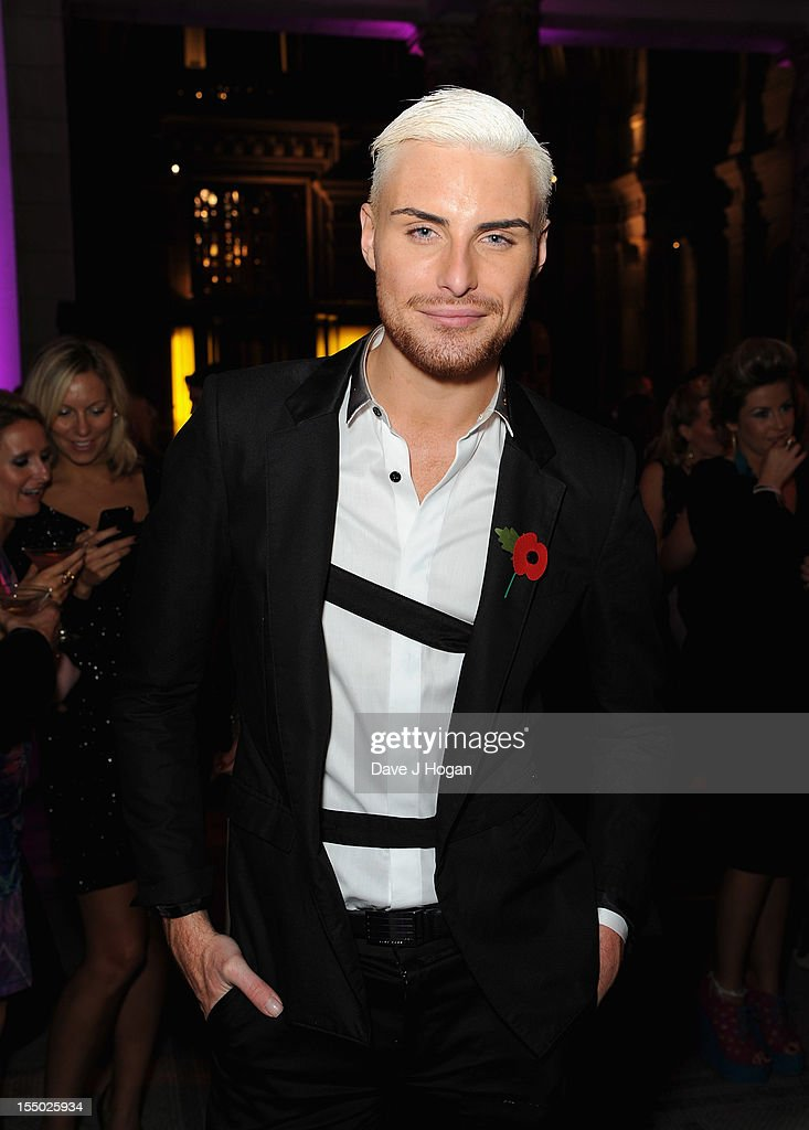<a gi-track='captionPersonalityLinkClicked' href=/galleries/search?phrase=Rylan+Clark&family=editorial&specificpeople=9804219 ng-click='$event.stopPropagation()'>Rylan Clark</a> poses at the winners boards at the Cosmopolitan Ultimate Woman of the Year Awards after party at Victoria & Albert Museum on October 30, 2012 in London, England.