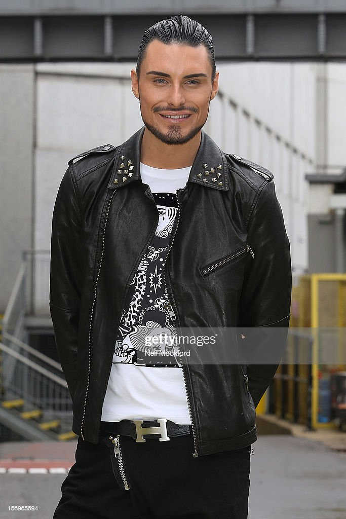 Rylan Clark seen at the ITV Studios on November 26, 2012 in London, England.