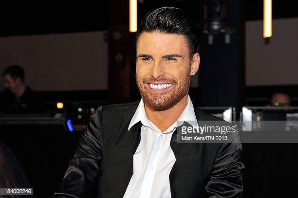 Rylan Clark sits on the panel of judges at the annual Newsroom's Got Talent event to raise money for the Leonard Cheshire Disability charity and...
