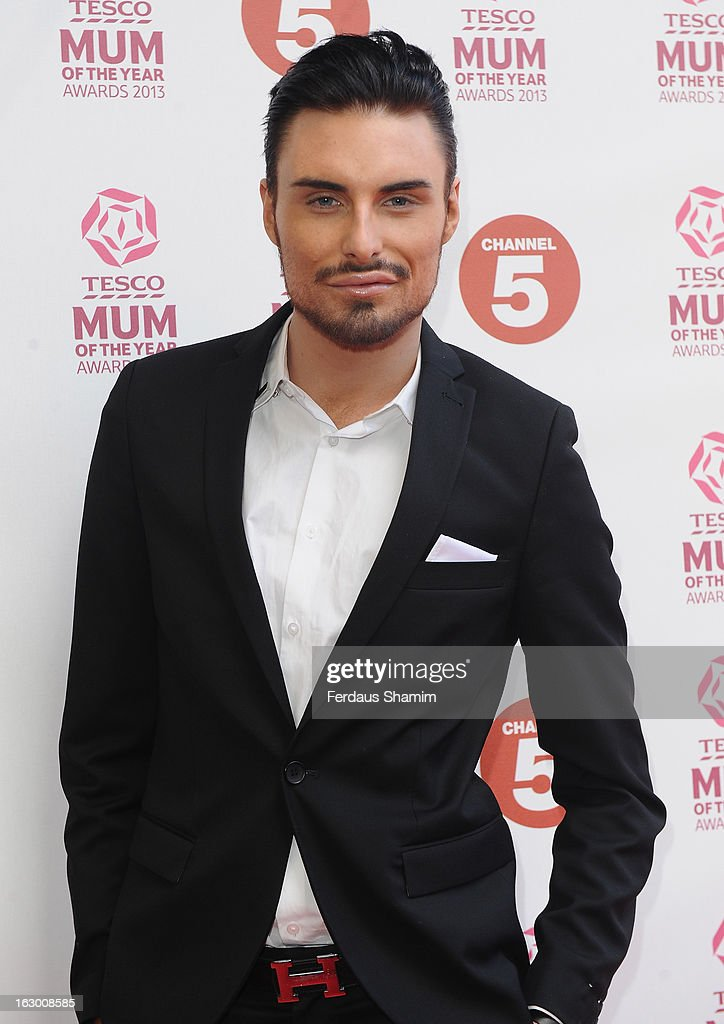 Rylan Clarke attends the Tesco Mum of the Year awards at The Savoy Hotel on March 3, 2013 in London, England.