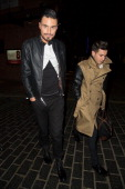 Rylan Clarke is seen on December 12 2012 in London United Kingdom