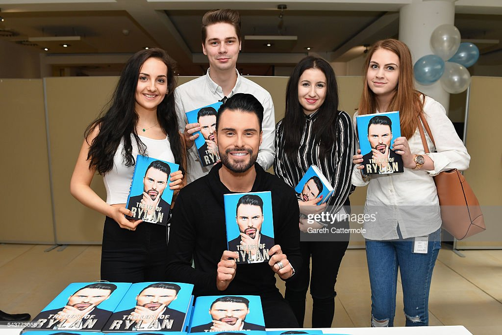 Rylan Clark-Neal meets fans as he launches his book 'The Life Of Rylan' at Penguin Random House on June 30, 2016 in London, England.