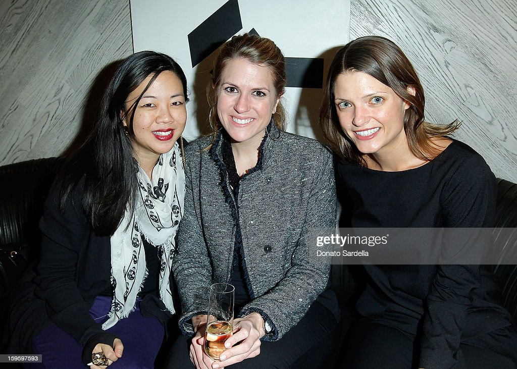 Rym-Ming Poon, Sarah Meade and Abby Bangser attend Kelly Wearstler and LACMA's Avant-Garde celebrating her eponymous new book Kelly Wearstler: 'Rhapsody' at Kelly Wearstler Boutique on January 16, 2013 in West Hollywood, California.