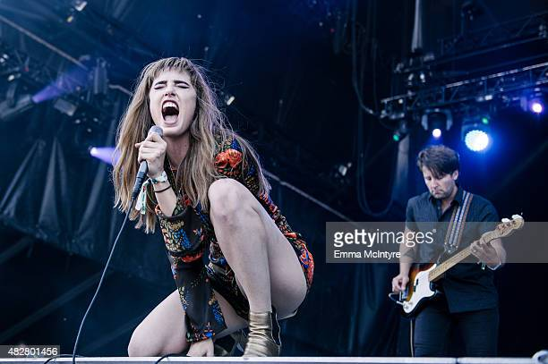 Ryn Weaver performs on Day Three of the Osheaga Music and Arts Festival on August 2 2015 in Montreal Canada