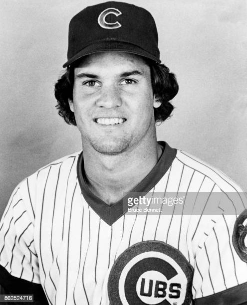 Ryne Sandberg of the Chicago Cubs poses for a portrait during Spring Training circa March 1985 in Mesa Arizona