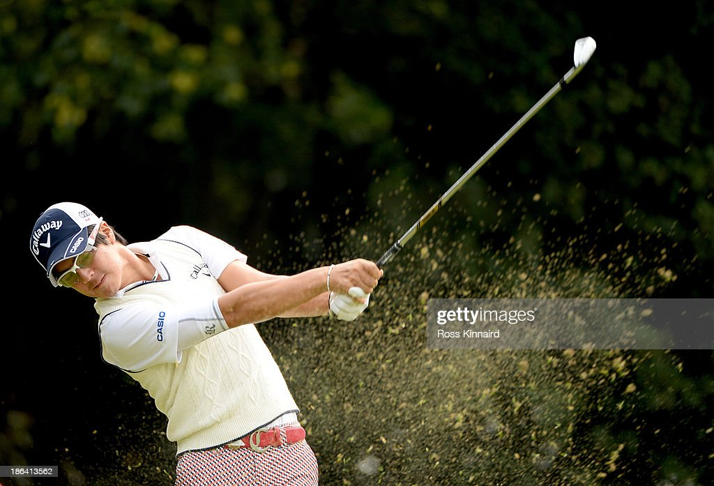 Ryo Ishikawa of Japan during the first round of the WGC - HSBC Champions at the Sheshan International Golf Club on October 31, 2013 in Shanghai, China.