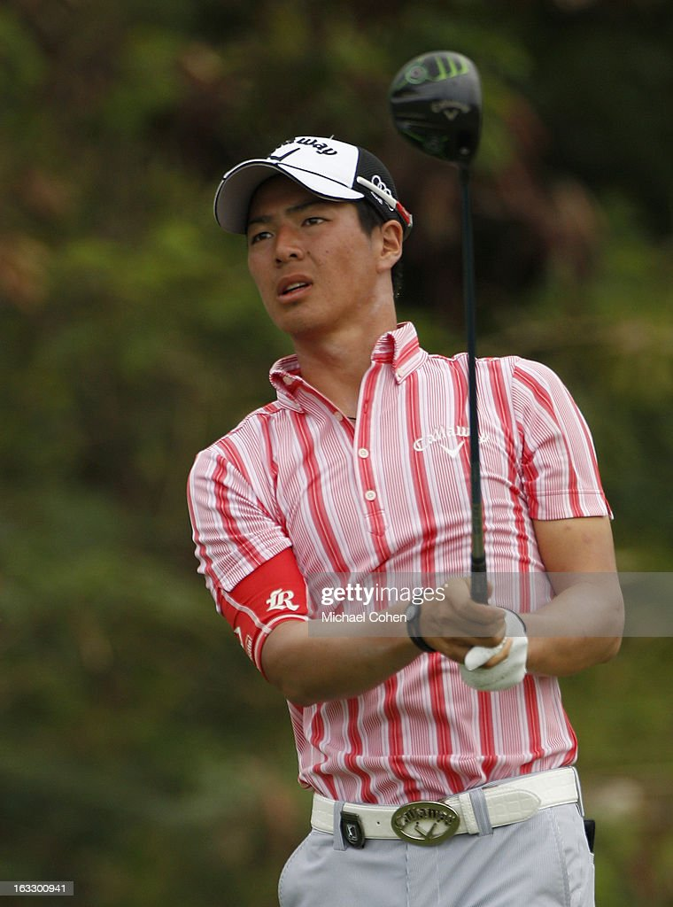 <a gi-track='captionPersonalityLinkClicked' href=/galleries/search?phrase=Ryo+Ishikawa&family=editorial&specificpeople=4297023 ng-click='$event.stopPropagation()'>Ryo Ishikawa</a> of Japan hits his drive on the 15th hole during the first round of the Puerto Rico Open presented by seepuertorico.com held at Trump International Golf Club on March 7, 2013 in Rio Grande, Puerto Rico.