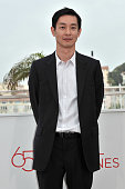 Ryo Kase at the photo call for 'Like Someone in Love' during the 65th Cannes International Film Festival