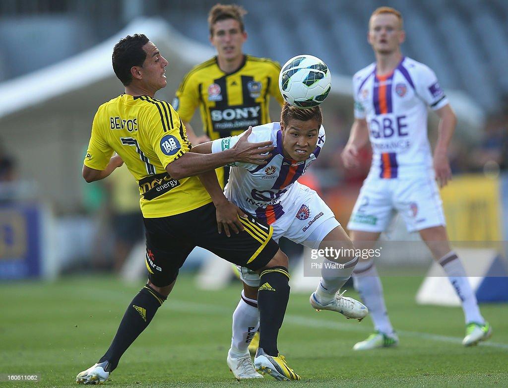 A-League Rd 19 - Wellington v Perth