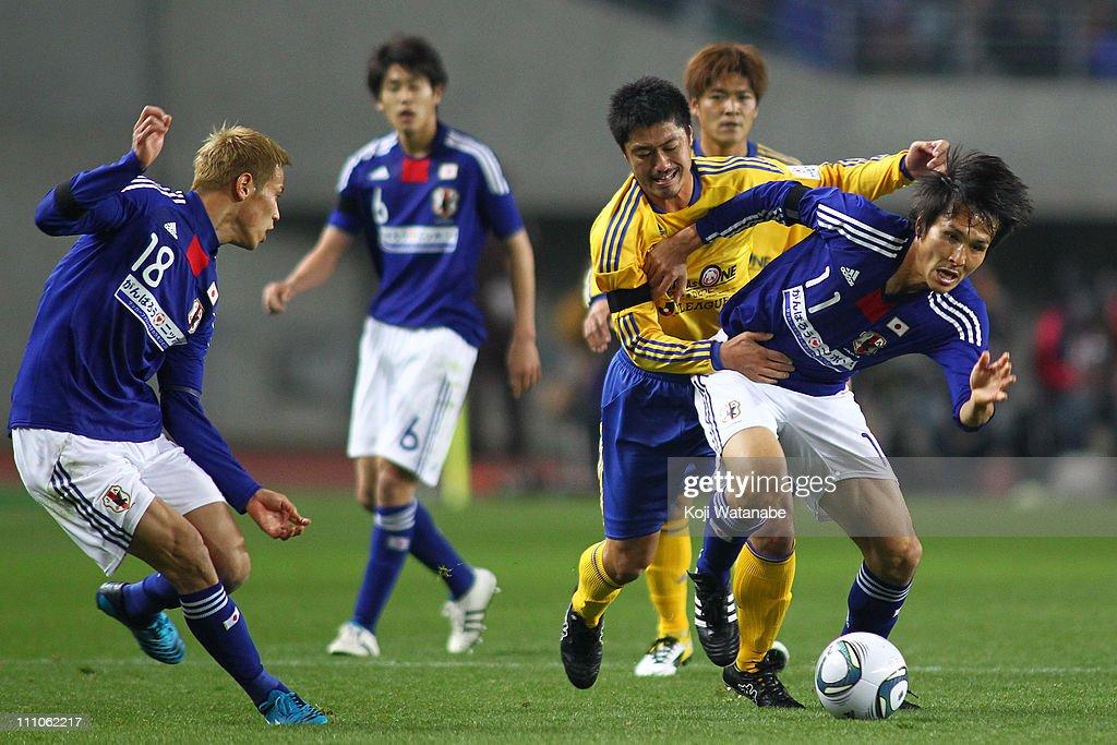 Japan v J.League XI - Earthquake Charity Match