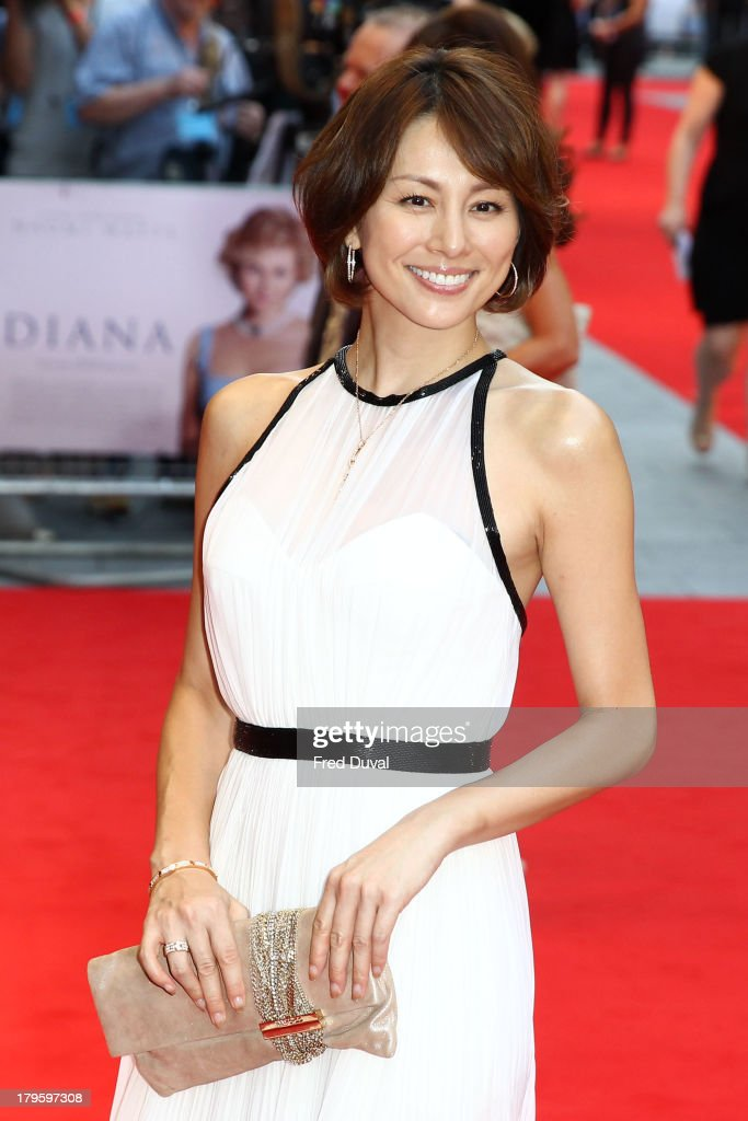 <a gi-track='captionPersonalityLinkClicked' href=/galleries/search?phrase=Ryoko+Yonekura&family=editorial&specificpeople=580264 ng-click='$event.stopPropagation()'>Ryoko Yonekura</a> attends the World Premiere of 'Diana' at Odeon Leicester Square on September 5, 2013 in London, England.