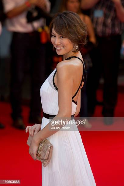 Ryoko Yonekura attends the World Premiere of 'Diana' at Odeon Leicester Square on September 5 2013 in London England