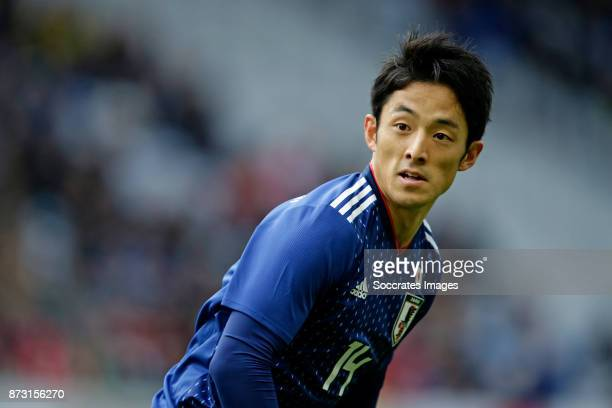 Ryota Morioka of Japan during the International Friendly match between Japan v Brazil at the Stade Pierre Mauroy on November 10 2017 in Lille France