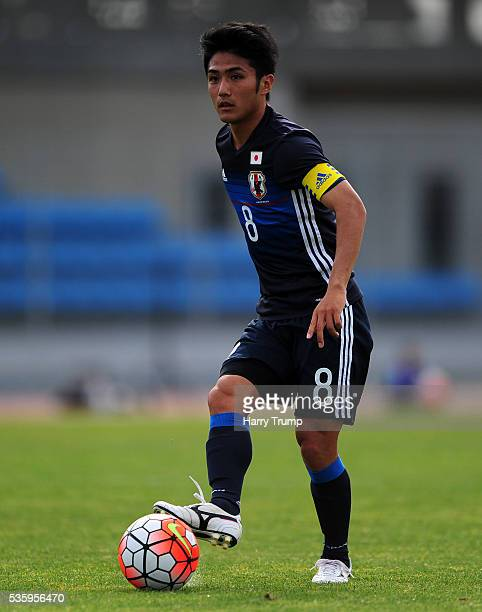 Ryota Ohshima of Japan during the Toulon Tournament match between Japan and England at the Stade Leo Lagrange on May 27 2016 in Toulon France