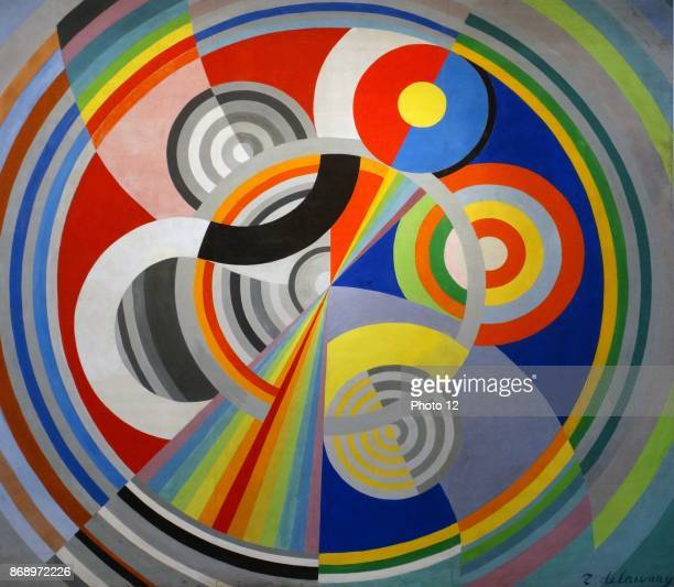 Rythme No 1 decoration for the Salon des Tuileries 1938 by Robert Delaunay 18851941 French artist who with his wife Sonia Delaunay and others...